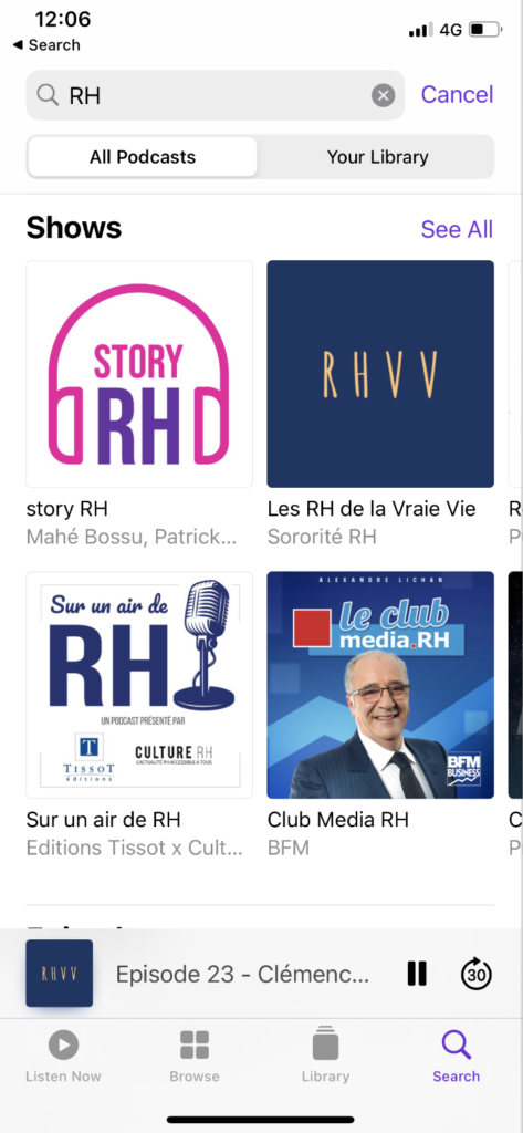 ecouter apple podcasts ressources humaines 1